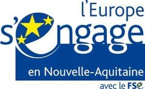 Logo L'Europe s'engage en Nouvelle Aquitaine