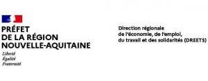 Logo DREETS Nouvelle Aquitaine