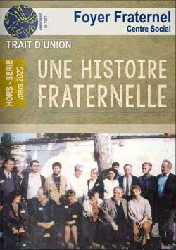 Couverture du Hors Série Trait d'union - Une histoire fraternelle