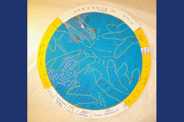 Le logo du Foyer Fraternel en dessin