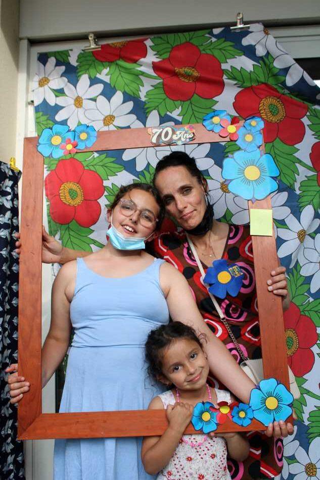 Photo de participants à la fête du Foyer Fraternel du 2 juillet 2021