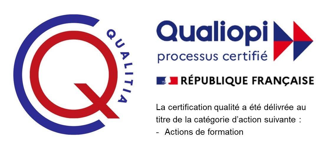 Logo Qualiopi - Actions de formation